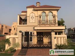 home front view design pictures in pakistan 10 marla corner british design bungalow elegant front view master