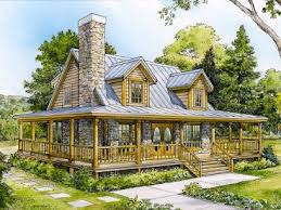 country cabin plans country home plans two story country house plan design 008h
