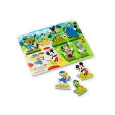 mickey mouse clubhouse wooden chunky puzzle by melissa u0026 doug