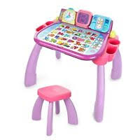 Vtech Write And Learn Desk Vtech Write And Learn Desk With Stool Ebay