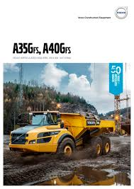 volvo heavy a35g fs a40g fs volvo construction equipment germany gmbh pdf