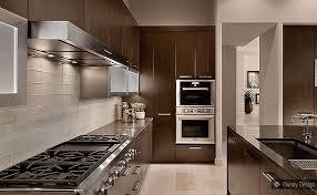 Dark Kitchen Cabinets With Light Countertops - modern style dark kitchen cabinets white subway tile backsplash