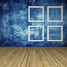empty room with windows on grunge blue wall and wood floor stock empty room with windows on grunge blue wall and wood floor stock photo 19927472
