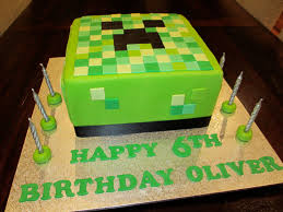 Easy Halloween Cake Decorating Ideas For How To Make A 3d Minecraft Birthday Cake Recipe And Template