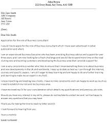 business consultant cover letter example icover org uk