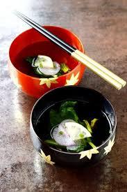 cuisine japonaise santé soupe japonaise au bouillon dashi japanese dashi broth