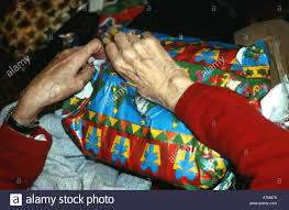 what to get an elderly woman for christmas of an elderly woman opening christmas present joan