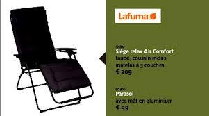 siege relax lafuma aveve promotion siège relax air comfort lafuma chaise de