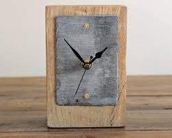 Wood Desk Clock 75 Best Mantel U0026 Desk Clocks By Reclaimed Time Images On Pinterest