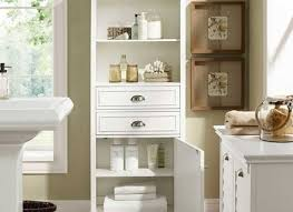 Lakeside Tall Storage Cabinet Furniture Tall Cabinet With Drawers And Shelves Tall Narrow
