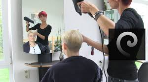extreme bowl cut women with shaved nape blonde pixie undercut