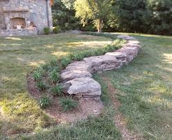 damascus md pennsylvania field stone wall and stepping stone
