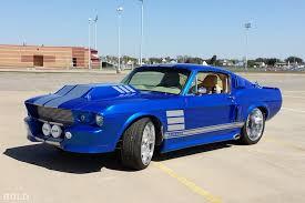 1967 blue mustang ride 1967 ford mustang blue custom