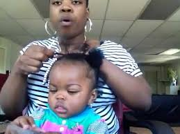 baby hair styles 1 years old 4b protective styles for baby 1 2 youtube