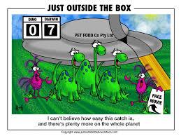 evil aliens u2013 page 2 u2013 just outside the box cartoon