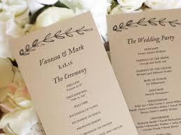 diy wedding programs template diy wedding programs fresh on diy wedding intended diy wedding