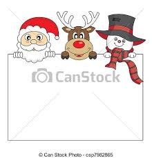 clipart vector of christmas card funny christmas card space
