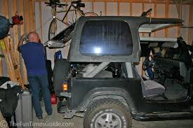 jeep wrangler top removal annual rite of passage for jeep owners removing the top