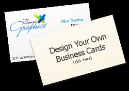 Design Your Own Business Cards Thomas Graphics Printing Typesetting Business Cards Brochures