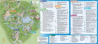 Disney Downtown Map Theme Park Maps Magical Distractions