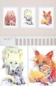 woodland animal prints forest animal prints by jamesriverstudios
