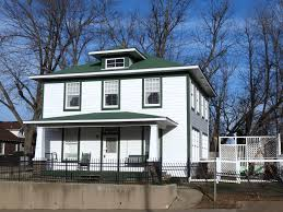 Bill Clinton Hometown by National Park Service At 100 President Clinton Childhood Home