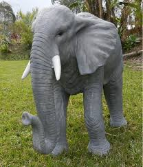 large elephant garden or pool side ornament statue 1200 mm x