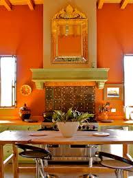 orange kitchen decor interesting original emily severinsen