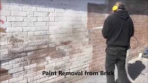 optimum dry ice blasting paint removal from brick youtube