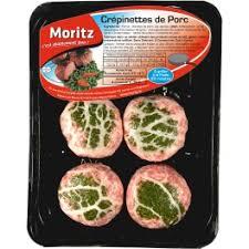 cuisiner des crepinettes 4 crépinettes de porc à poêler moritz