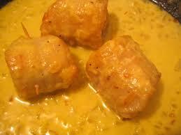 cuisiner des soles roules de filets de sole au safran chez requia cuisine et