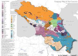 Indo European Language Map by Geocurrents U0027 Language Maps Of The Caucasus Geocurrents