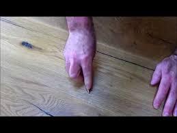 easily fix scratched wooden floor