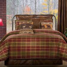 Eddie Bauer Rugged Plaid Comforter Set Bedroom Bedding Set Ideas With Eddie Bauer Nordic Red Plaid