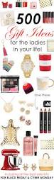 500 gift ideas for the ladies in your life