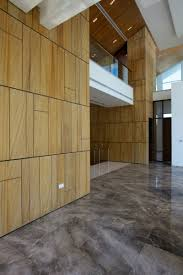 Kitchen Laminate Flooring Tile Effect Wooden Laminate On Wall Decoration With Grey Ceramic Flooring Also