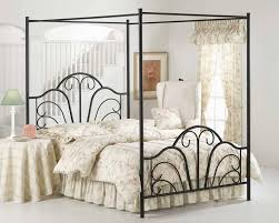 Iron Canopy Bed Wrought Iron Canopy Bed Queen Amazing Queen Canopy Bed Ideas