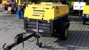 kompresor atlas copco xas 97 2005 youtube