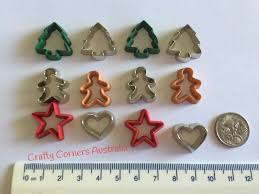 christmas cookie cutter novelty embellishments