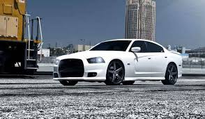 rims for dodge charger 2012 white dodge charger on vossen wheels by need4speed motorsports