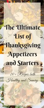 thanksgiving appetizers and starters pin easy appetizers