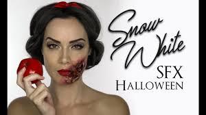 white face halloween makeup snow white sfx makeup halloween disney princess shonagh scott