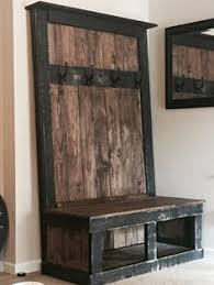 Otterville Wood Storage Entryway Benchindoor Wooden Bench Diy by Otterville Wood Storage Entryway Bench Entry Bench Pinterest