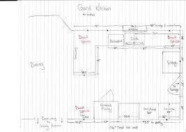 kitchen elegant design graph paper layout grid decor incredible