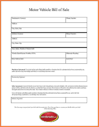 Free Sle Of Bill Of Sale For Used Car by 8 Free Printable Bill Of Sale For Used Car Simple Bill