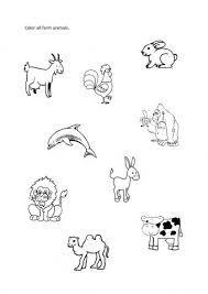 theme farm animals worksheets other juf milou