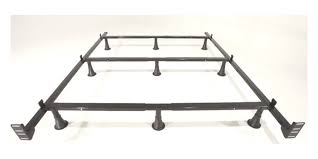 Metal Bed Frame King Greenhome123 Size Metal Bed Frame With 9 Legs And Headboard