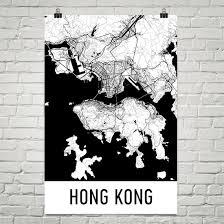 printable maps hong kong hong kong map hong kong art hong kong print hong kong