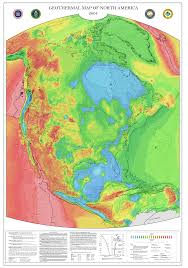 North America Map by Geothermal Current Maps Dedman College Smu