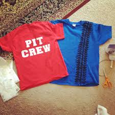 pit crew tshirts for birthday parents painting acrylic black